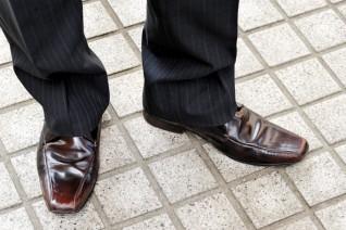 スニーカー靴擦れ